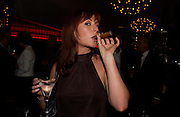 Emilie-Kate Owen, Opening of Floridita, Wardour St. London. 21 October 2004. ONE TIME USE ONLY - DO NOT ARCHIVE  © Copyright Photograph by Dafydd Jones 66 Stockwell Park Rd. London SW9 0DA Tel 020 7733 0108 www.dafjones.com