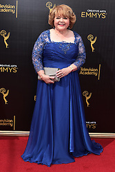 . Patrika Darbo   attends  2016 Creative Arts Emmy Awards - Day 2 at  Microsoft Theater on September 11th, 2016  in Los Angeles, California.Photo:Tony Lowe/Globephotos
