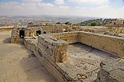 Nebi Samwil or Tomb of Samuel in the outskirts of Jerusalem Israel