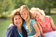 Grandmother With Her Granddaughters