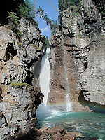 Lower Falls Johnstone Canyon   Photo: Peter Llewellyn