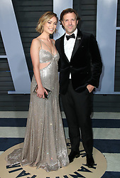 vanity fair oscar party in Hollywood, CA. 04 Mar 2018 Pictured: Olivia Wilde and Jason Sudeikis. Photo credit: MEGA TheMegaAgency.com +1 888 505 6342