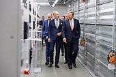 Werkbezoek Koning Willem Alexander aan Datacenter NTT