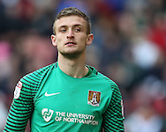 Adam Smith of Northampton during the English League One match at Bramall Lane Stadium, Sheffield. Picture date: December 31st, 2016. Pic Simon Bellis/Sportimage
