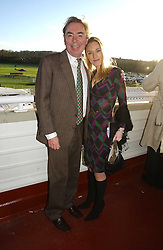 The HON.IMOGEN LLOYD WEBBER and her father LORD LLOYD-WEBBER at the 50th running of the Hennessy Gold Cup at Newbury Racecourse, Berkshire on 25th November 2006.<br /><br />NON EXCLUSIVE - WORLD RIGHTS