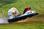Towcester, England,  28-29th August 2010: 4 Andreas Fulner (Germany) during the World Hovercraft Championships at Towcester Race Course, Towcester, Nothamptonshire, UK (photo by Lee Irvine/SLIK images)