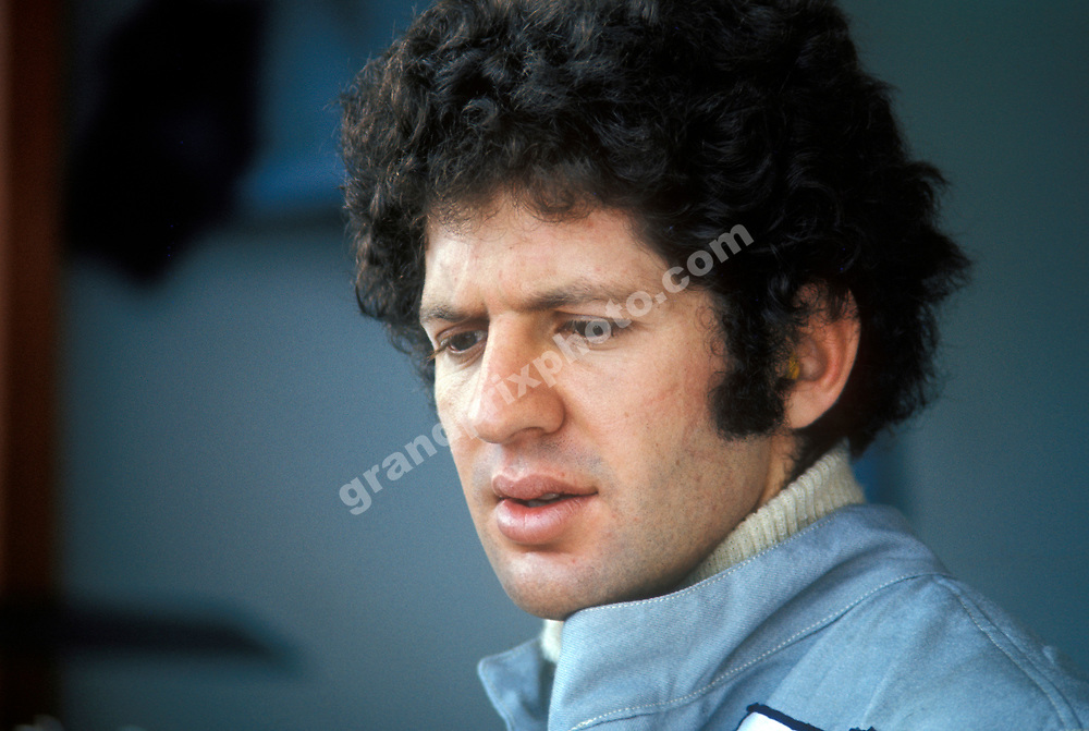 Jody Scheckter (Tyrrell-Ford) during the 1974 season. Photo: Grand Prix Photo