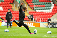 Danny Cipriani of Gloucester Rugby during the Gallagher Premiership Rugby match between Leicester Tigers and Gloucester Rugby at Welford Road Stadium, Leicester, United Kingdom on 21 November 2020.