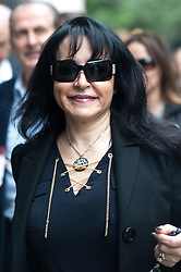 """Saudi Prince Alwaleed bin Talal Court Case,<br /> Consultant Daad Sharab enters High Court. She claims Saudi Prince Al-Waleed Bin Talal Bin Abdul-Aziz Al-Saud owes her around £6.5 million commission for the part she played in a 2005 Airbus deal. Prince Al-Waleed disputes her claim and denies that any agreement was made for a """"specific commission"""",<br /> London, United Kingdom<br /> Tuesday, 2nd July 2013<br /> Picture by Piero Cruciatti / i-Images"""
