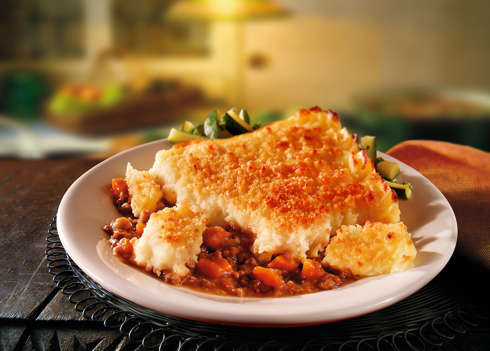 British Food - Cumberland pie