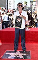 Simon Cowell Honored With Star - 22 Aug 2018