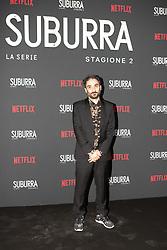 Pietro Messina at the Red Carpet of the series Suburra 2 at Circolo Degli Illuminati in Rome, Italy, 20 February 2019  (Credit Image: © Lucia Casone/Soevermedia via ZUMA Press)