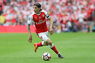 Arsenal's Héctor Bellerín(24) runs forward during the The FA Cup final match between Arsenal and Chelsea at Wembley Stadium, London, England on 27 May 2017. Photo by Shane Healey.