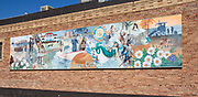 Sunny California Mural in Downtown Hermosa Beach