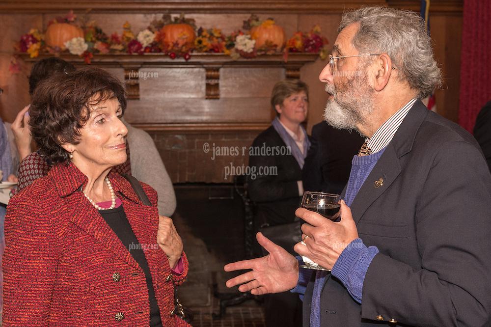 A Service of Remembrance Pierre Capretz, Battell Chapel Yale University. 11 October 2014. Reception at The Graduate Club