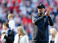 Football - 2018 / 2019 Premier League - Liverpool vs. Wolverhampton Wanderers <br /> <br /> Jurgen Klopp manager of Liverpool at full time, at Anfield<br /> <br /> COLORSPORT/BRUCE WHITE
