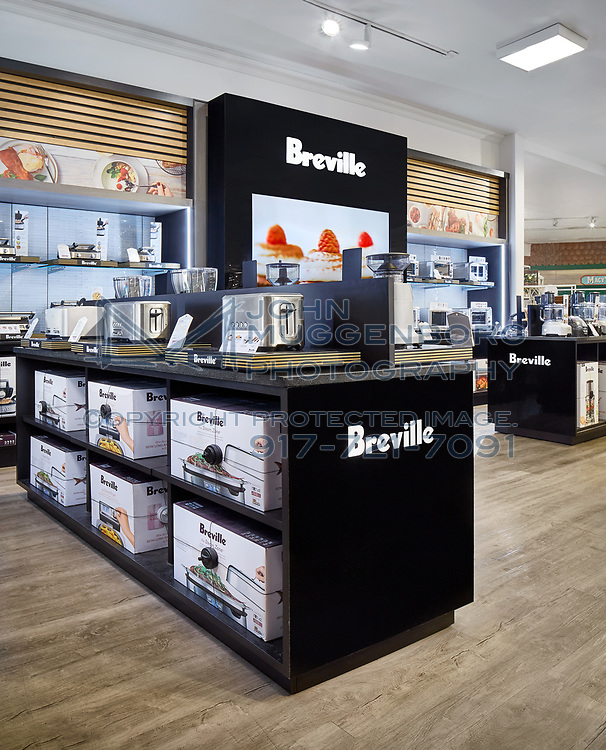 The Breville Store-in-Store at Macy's Herald Square NYC. Photograph by John Muggenborg.