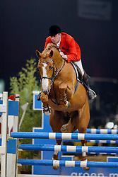 Bril Roelof, NED, Tangelo van de Zuuthoeve<br /> CSI Zwolle 2002<br /> © Hippo Foto - Dirk Caremans<br /> 22/03/2002