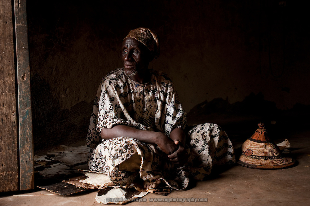 Baba Yili Abdullai Iddrissu, 70, Sana's son, is a local sub-chief. He is building a house for her on his land, but feels that it is safest that she remain at the camp until it is completed, as she may not be safe from further accusations until she is within his protection.