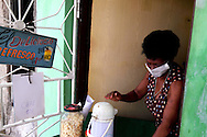 Coffee hole-in-the-wall in Ciego de Avila, Cuba.