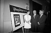 "1967 - Presentation of prizes for Navan Carpets ""Young Designer of the Year"""