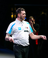 Dave Parletti during the BDO World Professional Championships at the O2 Arena, London, United Kingdom on 4 January 2020.
