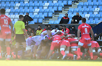 Rugby Union - 2019 / 2020 Heineken Cup - Semi-final - Exeter Chiefs vs Toulouse<br /> <br /> Toulouse replacements look on, at Sandy Park.<br /> <br /> COLORSPORT/ASHLEY WESTERN