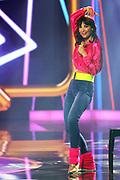 """Auftritt von Anita Buri anlässlich der Lip-Sync-Battles bei der SRF-Pop-Schlager-Show """"Hello Again"""". Aufzeichnung vom 01. Oktober 2020 in den Fernsehstudios Zürich."""