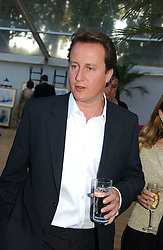 DAVID CAMERON MP at the Concervative Party Summer Party held in the gardnes of The Royal Hospital, Chelsea, London on 3rd July 2006.<br /><br />NON EXCLUSIVE - WORLD RIGHTS