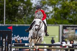 Vandousselaere Paris, BEL, Golden Penny Z<br /> Belgisch kampioenschap Young Riders - Azelhof - Lier 2019<br /> © Dirk Caremans<br /> 30/05/2019