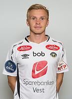Fotball<br /> 24.02.16<br /> Tippeligaen<br /> Portretter<br /> Sogndal<br /> Taijo Teniste<br /> Foto: Astrid M. Nordhaug