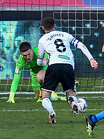 Football - 2020 / 2021 Sky Bet Championship - Swansea City vs Preston North End - Liberty Stadium<br /> <br /> Matt Grimes Swansea City concedes an own goal in the 90th minute<br /> <br /> COLORSPORT/WINSTON BYNORTH