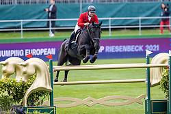 Szuhai Gyula, HUN, Lawisangos<br /> European Championship Riesenbeck 2021<br /> © Hippo Foto - Dirk Caremans<br />  01/09/2021