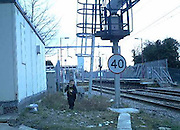 "Mum pictured walking with children next to busy railway lines at Pitsea<br /> <br /> THESE shocking images show amother and toddler perilously close to a busy railway line at Pitsea.<br /> <br /> <br /> BTP officers are set to carry out increased patrols to try to ward off trespassers who think the track is a place to hang out or to commit vandalism.<br /> <br /> Between April and June, 2,400 incidents of people trespassing on the railway were reported to police.<br /> <br /> Insp Mark Hook, who covers Essex for the BTP, said: ""It's an issue in south Essex at this time of year, where children go on the lines for amusement or other means. Every school in south Essex has received a letter from me explaining that we will be out there.<br /> ""This operation is not about criminalising young people, but about raising awareness.""<br /> <br /> More than half cases British Transport Police were called to in the first three months of the year involved people aged 25 or younger.<br /> ©BTP/Exclusivepix"