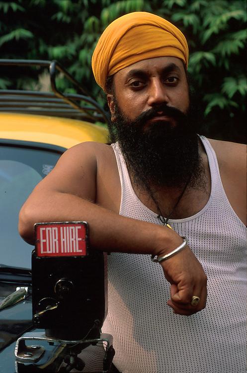 Sikh Taxi driver, Delhi