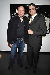 Left to right,  DANA WHITE the current President of the Ultimate Fighting Championship and Photographer KEVIN LYNCH at a private view of Octagan a showcase of work of photographer Kevin Lynch featuring the stars of the Ultimate Fighter Championship held at Hamiltons gallery, Mayfair, London on 17th January 2008.<br /><br />NON EXCLUSIVE - WORLD RIGHTS
