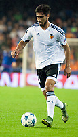 Valencia's  Andre Gomes during Champions league match. October 20, 2015. (ALTERPHOTOS/Javier Comos)