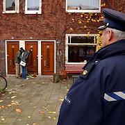 Huis Theo van Gogh Pythagorasstraat 133 Amsterdam nav zijn moord, politie