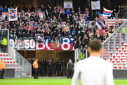 November 26, 2017 - France - Ambiance CRS - Supporters fans (Credit Image: © Panoramic via ZUMA Press)