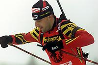 Skiskyting, VM Holmenkollen Oslo februar 2000. Frank Luck, Tyskland.