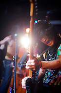 The Japanese heavy metal band Ed Woods plays at VU in Taipei, Taiwan.