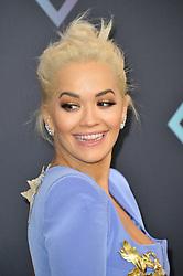Celebrities arrive at the 2018 People's Choice Awards. 11 Nov 2018 Pictured: Rita Ora. Photo credit: Leon Brezer / Fashion Media / MEGA TheMegaAgency.com +1 888 505 6342