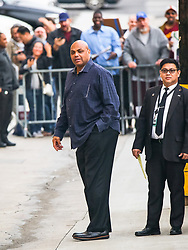 Charles Barkley is seen arriving at 'Jimmy Kimmel Live' in Los Angeles, California. 12 Feb 2019 Pictured: Charles Barkley. Photo credit: BG017/Bauergriffin.com / MEGA TheMegaAgency.com +1 888 505 6342