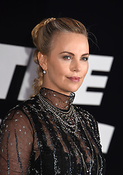 """Charlize Theron attends The World Premiere of """"The Fate of the Furious"""" on April 8, 2017 at Radio City Music Hall in New York, New York, USA. *** Please Use Credit from Credit Field ***"""