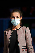 100120 Queen Letizia attends Working meeting with the Spanish Red Cross
