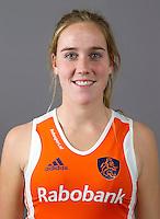 ARNHEM - DAPHNE VAN DER VELDEN.Nederlands hockeyteam dames 2012. FOTO KOEN SUYK/KNHB