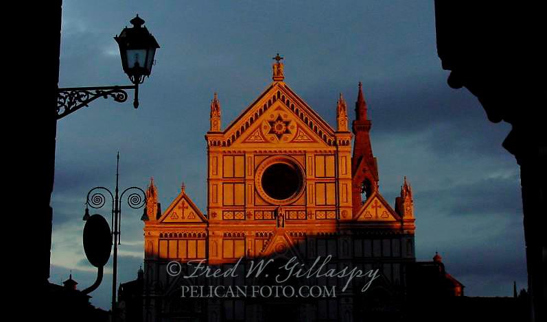Santa Croce, Firenze, At Sunset