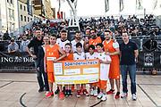 Basketball: ING-DiBa German Championship 3x3, Deutsche Meisterschaft, Hamburg, 05.08.2017<br /> Charity-Spiel: Ivan Klasnic und Carsten Spengemann <br /> (c) Torsten Helmke