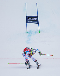 22.12.2013, Gran Risa, Alta Badia, ITA, FIS Ski Weltcup, Alta Badia, Riesenslalom, Herren, 2. Durchgang, im Bild Alexis Pinturault (FRA, 2. Platz) // 2nd place Alexis Pinturault of France reacts in the finish Area during 2nd run of mens Giant Slalom of the Alta Badia FIS Ski Alpine World Cup at the Gran Risa Course in Alta Badia, Italy on 2012/12/22. EXPA Pictures © 2013, PhotoCredit: EXPA/ Johann Groder
