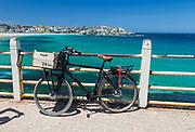 Bicycle at  Bondi, Beach, Sydney, Australia.